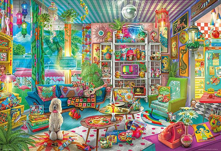 Aimee Stewart - 女孩子的私密房間 1000塊 (49×72cm)