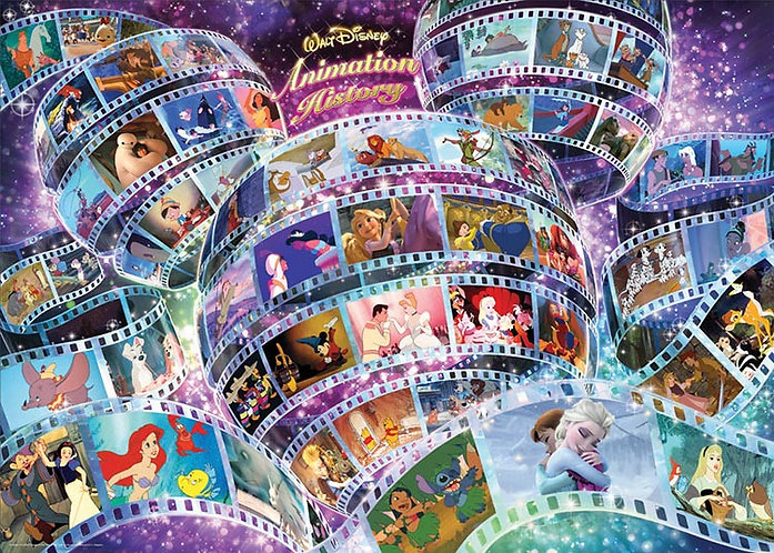 迪士尼 - 迪士尼歷代經典動畫 2000塊 (73×102cm)