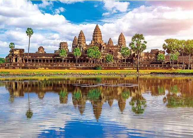 柬埔寨風景 - 吳哥窟 500塊 (38×53cm)