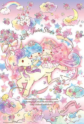 Sanrio - Little Twin Stars在獨角獸上 300塊 (26×38cm)