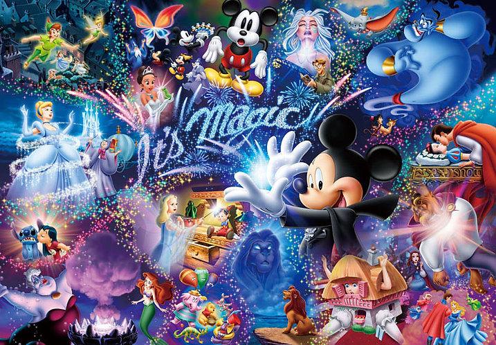 (鐳射閃面) 迪士尼 - It's Magic 1000塊 (51×73.5cm)