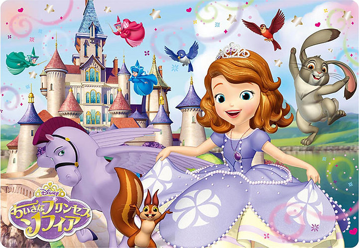兒童向 - 小公主蘇菲亞 城堡景觀 40塊 (26×37.5cm)