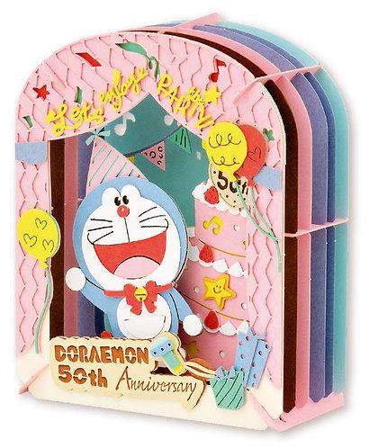 Paper Theater - 多啦A夢 50週年蛋糕慶祝