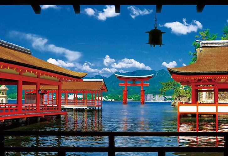 日本風景 - 嚴島神社 300塊 (26×38cm)