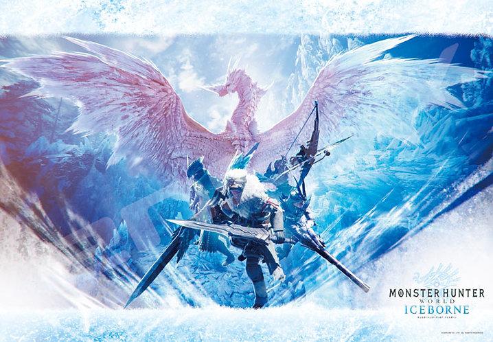 魔物獵人 - Monster Hunter Ice: 冰龍降臨 1000塊 (51×73.5cm)
