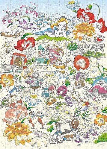 (布料質地) 愛麗絲夢遊仙境 - 愛麗絲在夢中 500塊 (38×53cm)
