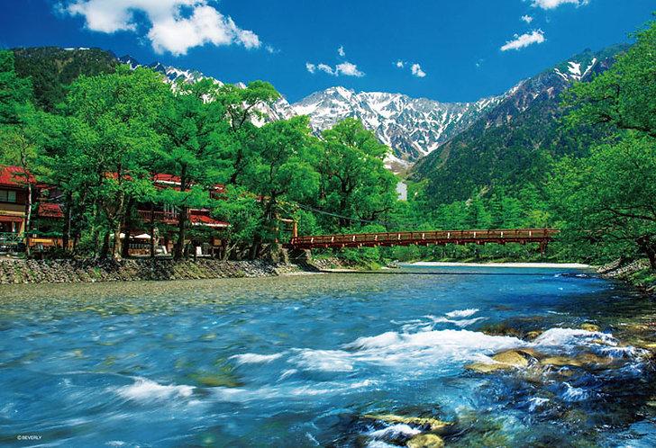 (迷你尺寸) 日本風景 - 河童橋 1000塊 (26×38cm)