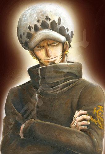 海賊王 - 托拉法爾加·羅肖像畫 300塊 (26×38cm)