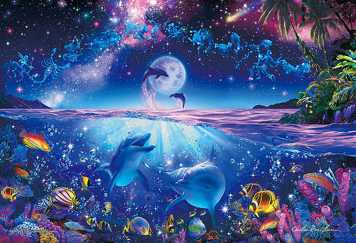 (夜光) Christian Lassen - 星之願 300塊 (26×38cm)
