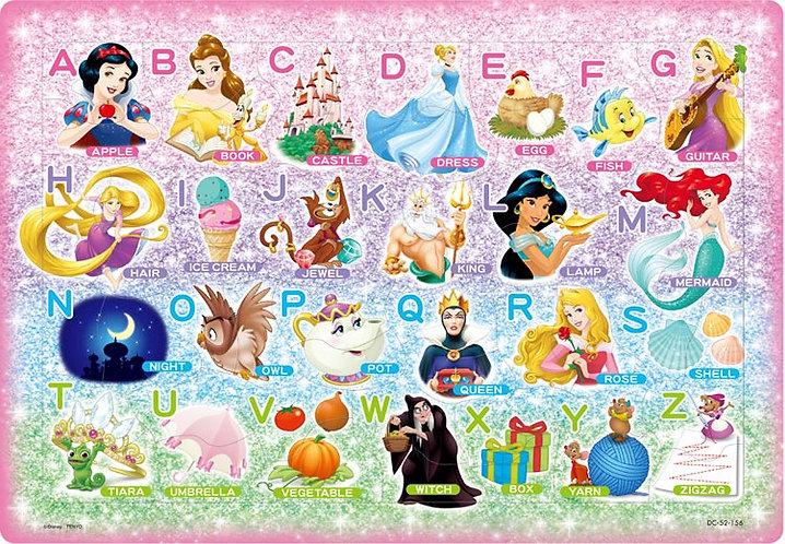 兒童向 - 迪士尼公主ABC字母表 52塊 (26×37.5cm)
