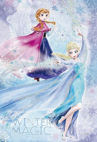 (布料質地) 魔雪奇緣 - 愛莎的冬日魔法 300塊 (26×38cm)