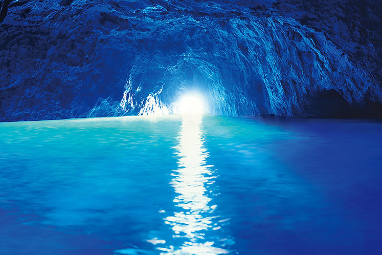 意大利風景 - 藍洞 1000塊 (50×75cm)