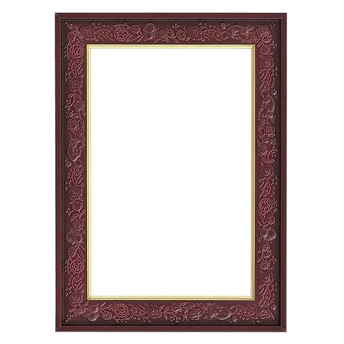 吉卜力龍貓雕刻框 葡萄色 - 10×14.7cm (126塊/150塊)
