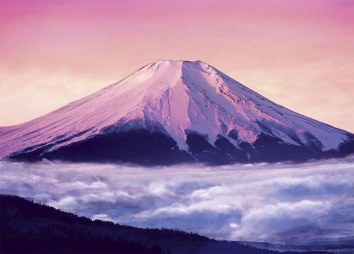 日本風景 - 染色的絕景富士 500塊 (38×53cm)