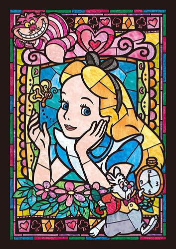 (透明樹脂) 愛麗絲夢遊仙境 - 愛麗絲肖像彩繪 266塊 (18.2×25.7cm)