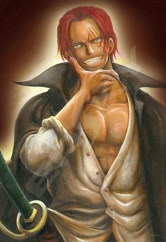 海賊王 - 撒古斯肖像畫 300塊 (26×38cm)