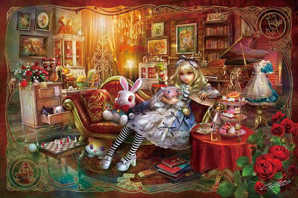 SHU - 愛麗絲圖書館 300塊 (26×38cm)