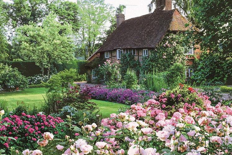 英國風景 - 花園小屋 1000塊 (50×75cm)