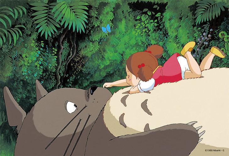 龍貓 - 在龍貓的肚子上 300塊 (26×38cm)