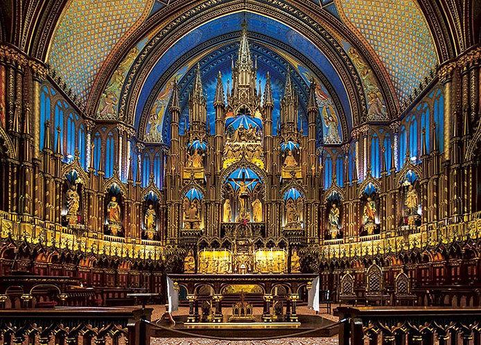 加拿大風景 - 蒙特利爾聖母聖殿 500塊 (38×53cm)