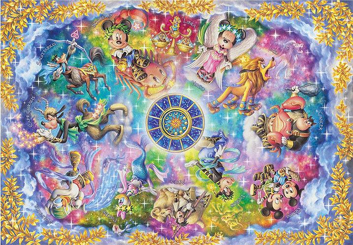 迪士尼 - 米奇十二星座 2000塊 (73×102cm)
