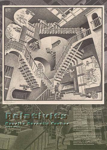 M.C. Escher - 相對論 500塊 (38×53cm)
