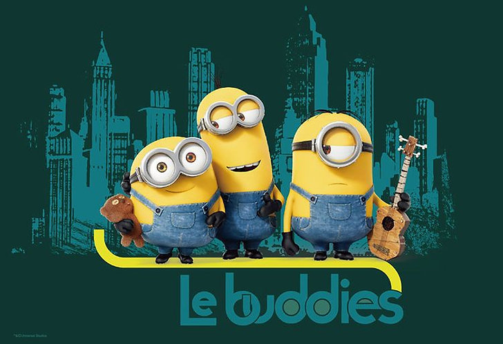 迷你兵團 - Le buddies 300塊 (26×38cm)