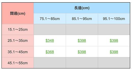 訂造大型木框價格表.png