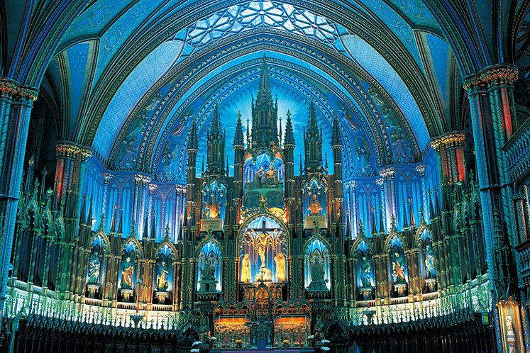 (迷你尺寸) 加拿大風景 - 藍光巴黎聖母院 2016塊 (50×75cm)