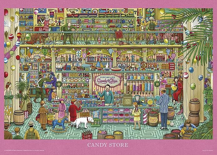 迷宮偵探 - 在糖果店裡尋找什麼 500塊 (38×53cm)