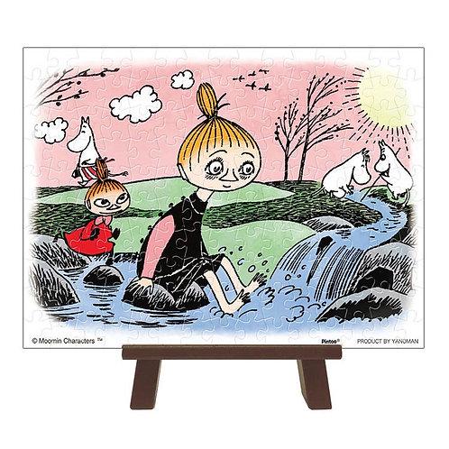 (環保樹脂) 姆明一族 - 在春天的小河 150塊 (7.6×10.2cm)