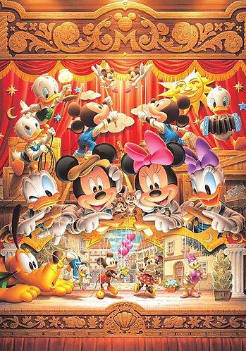 (迷你尺寸) 迪士尼 - 米奇木偶劇 1000塊 (29.7×42cm)