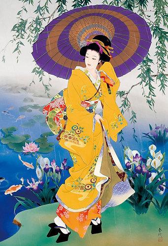 森田春代 - 雨之聲 300塊 (26×38cm)
