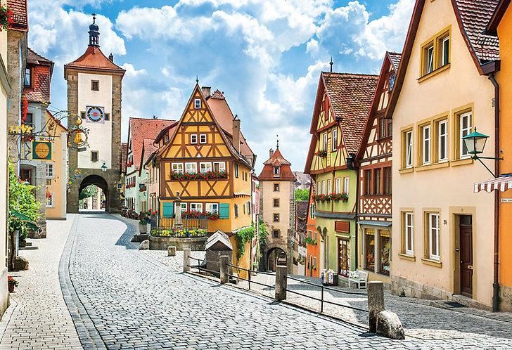 (迷你尺寸) 德國風景 - 中世紀的珠寶箱 1053塊 (26×38cm)