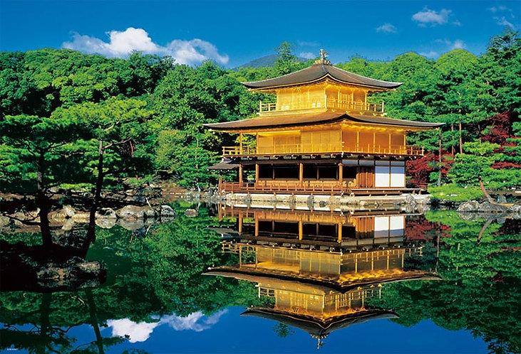 日本風景 - 寧靜的金閣寺 1000塊 (49×72cm)