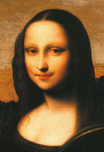 達文西 - 修復後的蒙娜麗莎 300塊 (26×38cm)