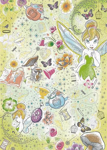 (布料質地) 小飛俠與奇妙仙子 - 奇妙仙子 500塊 (38×53cm)