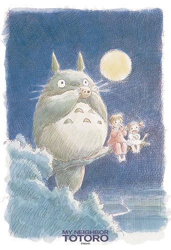 龍貓 - 月光下演奏 300塊 (26×38cm)