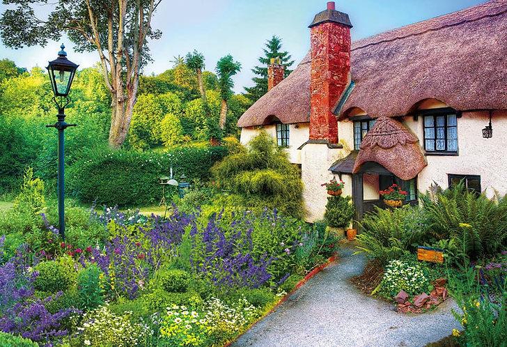 英國風景 - 下午小屋 300塊 (26×38cm)