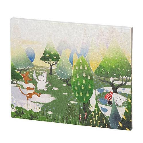 畫布框立體 - 姆明一族 美麗的花園 586塊