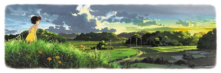 龍貓 - 夕日黃昏 950塊 (34×102cm)