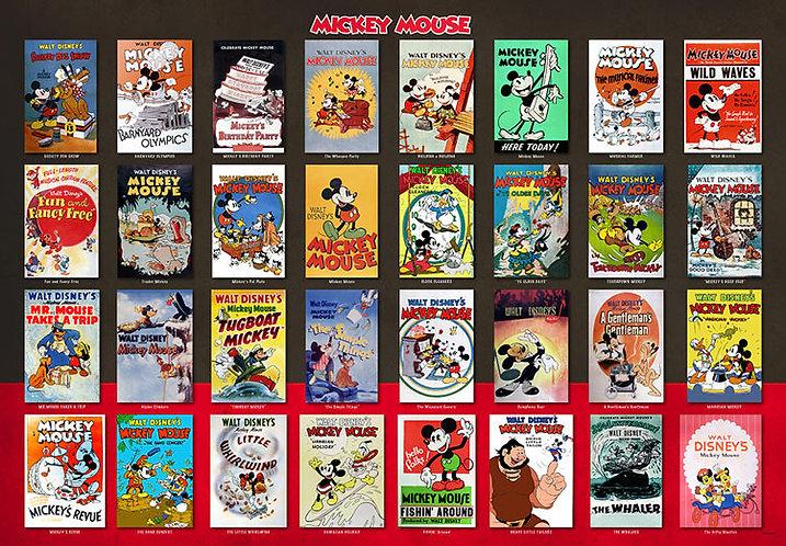 迪士尼 - 迪士尼經典海報 1000塊 (51×73.5cm)