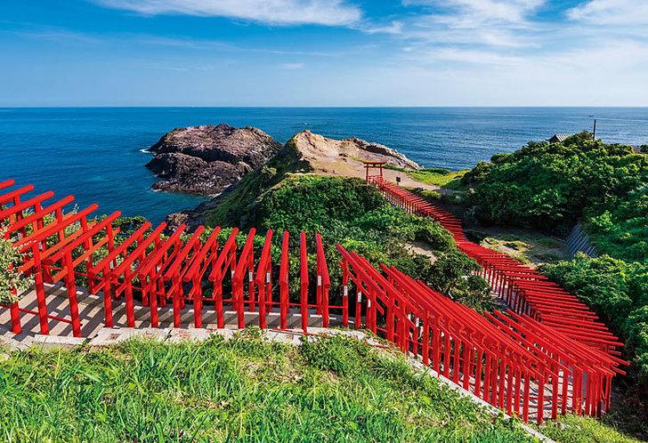 (迷你尺寸) 日本風景 - 元乃隅神社 1053塊 (26×38cm)