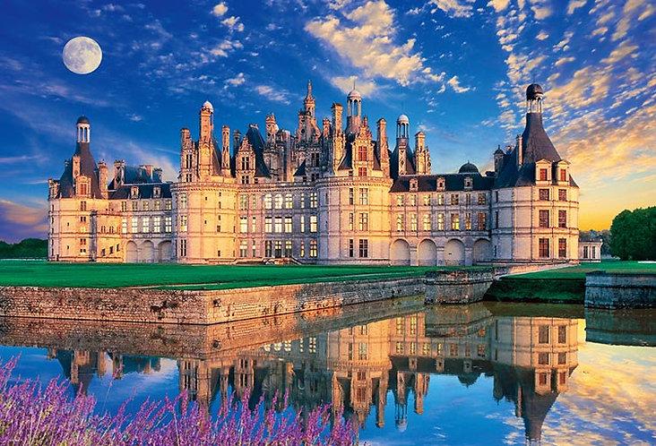 法國風景 - 香波爾城堡 1000塊 (49×72cm)