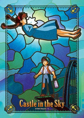 (透明樹脂) 天空之城 - 從天而降的少女彩繪 208塊 (18.2×25.7cm)