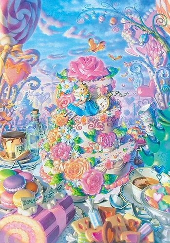 (環保樹脂) 愛麗絲夢遊仙境 - 愛麗絲的私人樂園 500塊 (25×36cm)