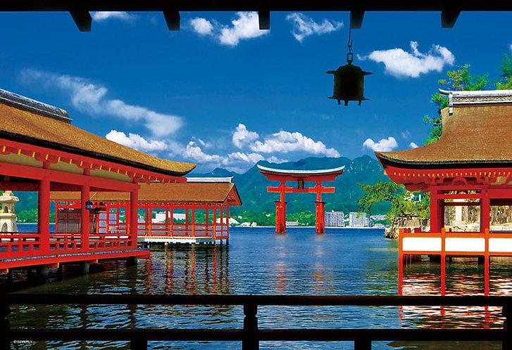(迷你尺寸) 日本風景 - 嚴島神社 1000塊 (26×38cm)