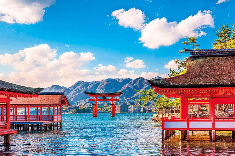 日本風景 - 嚴島的春天 1000塊 (50×75cm)