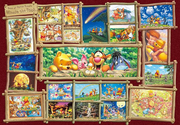 (迷你尺寸) 小熊維尼 - 小熊維尼藝術收藏 1000塊 (29.7×42cm)
