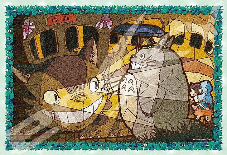(透明樹脂) 龍貓 - 貓巴士到著 300塊 (26×38cm)